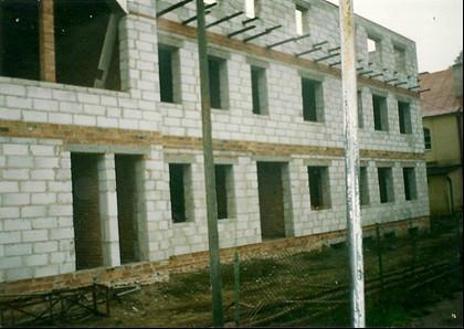 Rok 1993 rozbudowa budynku na potrzeby szkoły