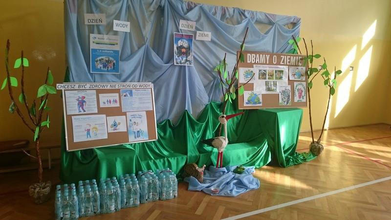 Światowy Dzień Wody i Światowy Dzień Ziemi - apel